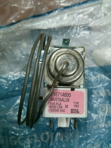 216714600 termostato de nevera frigidaire, electrolux.