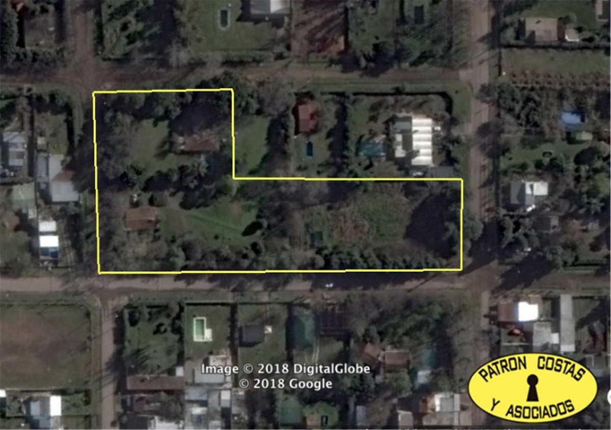 2177ro terreno 8000m2 pilar ideal emprendimiento (9 lotes)