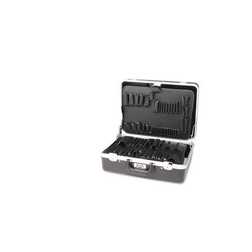 218 spc caja de herramientas moldeada inyección attache negr