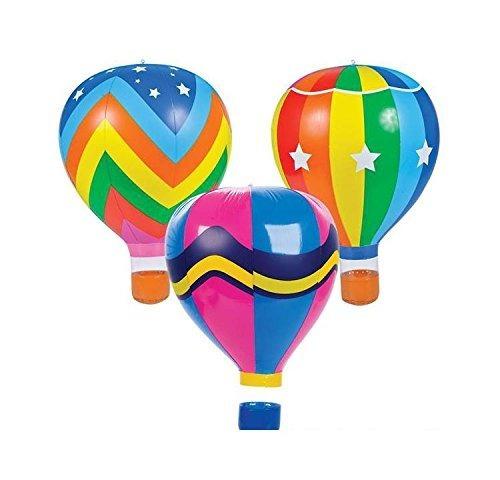 22 globos de aire caliente del arco iris