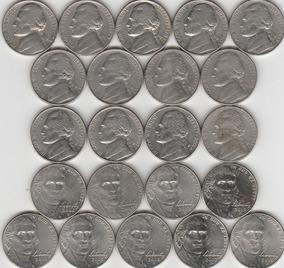 Moeda 5 Five Cent Dollar, Eua, 1969, Níquel, Estrangeira - Moedas no