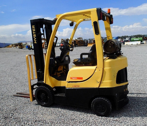 22) montacargas hyster gas lp s50ft 4900 lbs. 2009