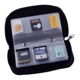 22 Slots Case Holder Para Tarjeta De Memoria Sd Card.memory