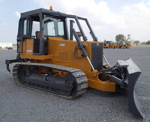 22) tractor sobre orugas bulldozer case 1150e 1991