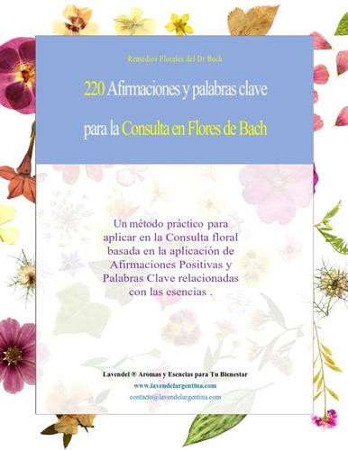 220 afirmaciones y claves para consulta flores de bach