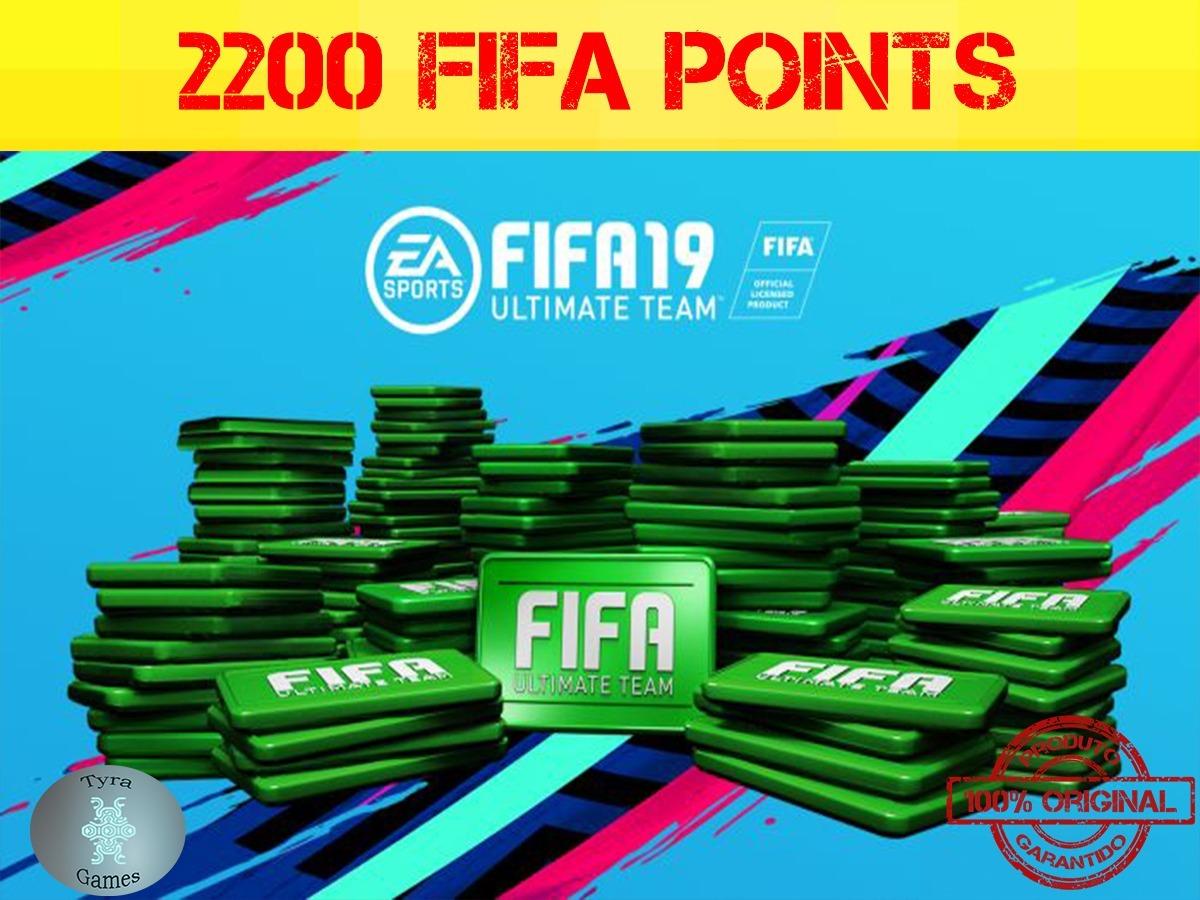 2200 Fifa Points 2019 Pc Origin Key(chave)