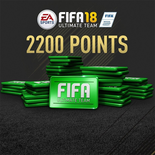 2.200 fifa points para fifa 18 ps4 (código digital)