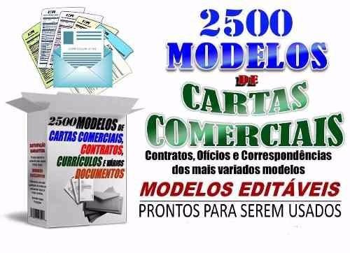 2200 modelos de contratos, cartas e documentos comerciais