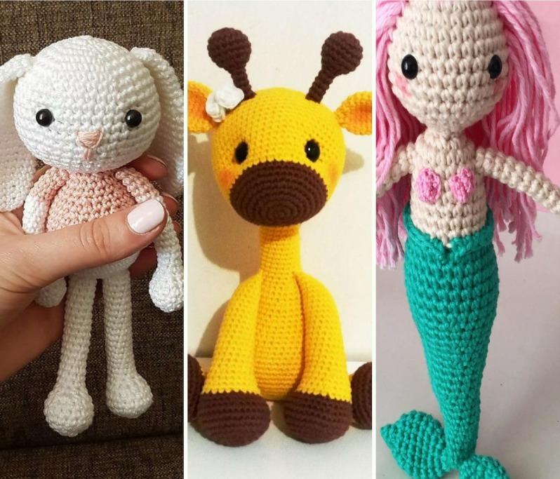 Girafa Amigurumi - Receita | Amigurumi de animais de crochê, Gato ... | 683x798