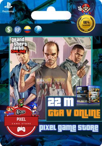 $22.000.000 dinero gta  v online ps4