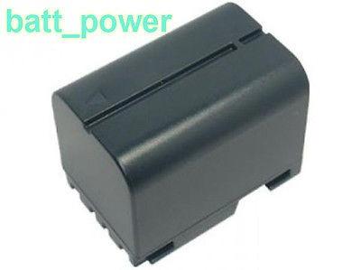 2200mah batería para jvc bn-v408us gr-dv900k gr-dvf305k gr-d