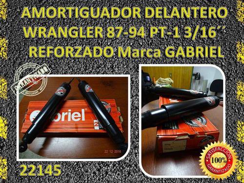 (22145) amortiguador delantero wrangler 87-94 3/16