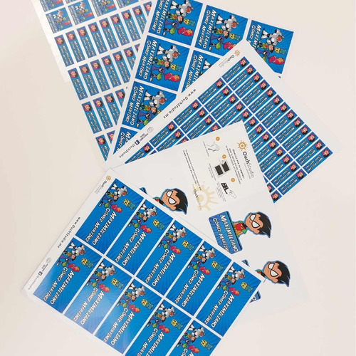 222 etiquetas escolares personalizadas