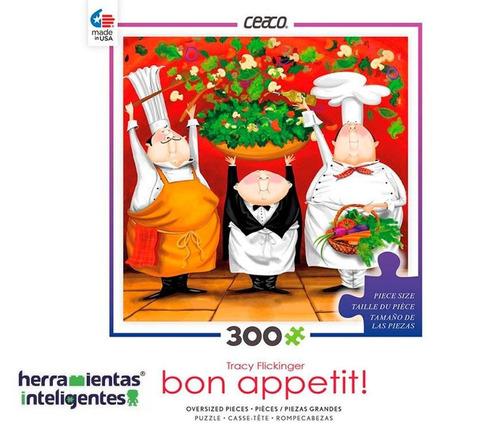 2226-01 ensalada flickinger rompecabezas 300 piezas ceaco