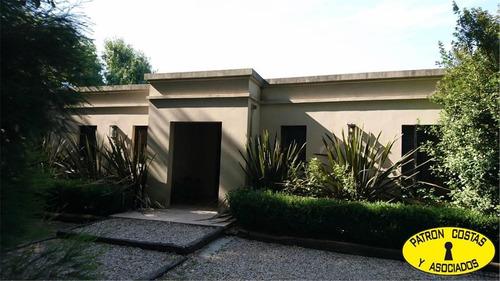 2227hp-chacra 2000 m2 casa y pileta en pilar