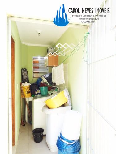 2234- excelente sobrado mobiliada em condomínio,  75 mil