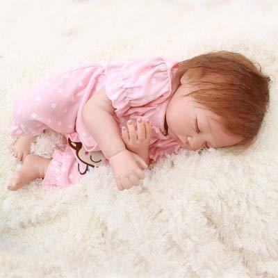 2255cm reborn toddler doll soft silicone vinyl lifelike baby