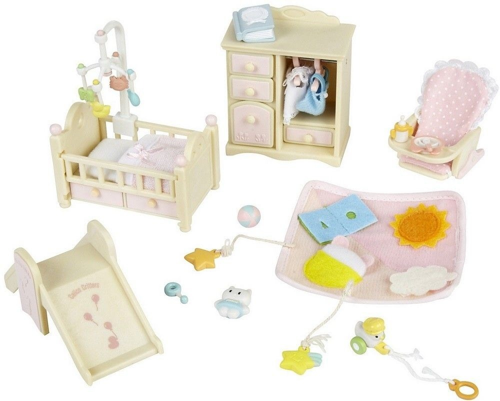 2269 sylvanian families mov is e mob lia quarto de beb e for Mobilia quarto bebe
