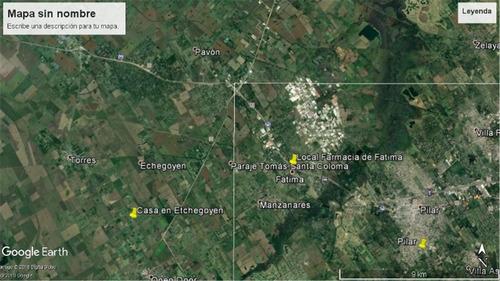 2294aa-etchegoyen con casa y galpon-t. 10.000 m2