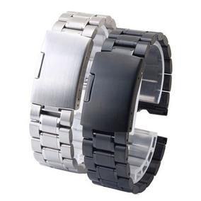 0aa95e885 Correa Metálica Reloj Pulsera 22 Mm Acero Inoxidable - Relojes y Joyas en  Mercado Libre Chile