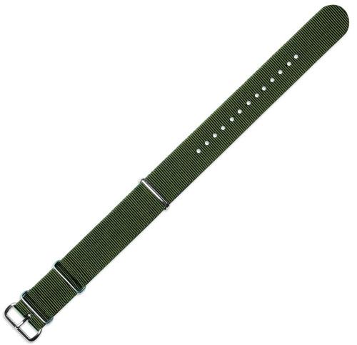 22mm militar mod ballistic nylon g10 banda de reloj - de oli