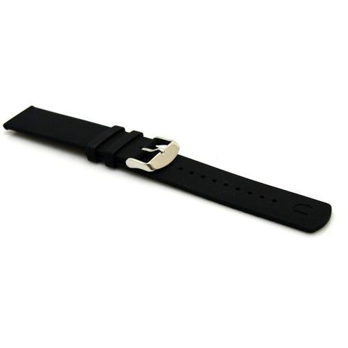 22mm universal caucho reloj banda , vonoto negro deporte sil