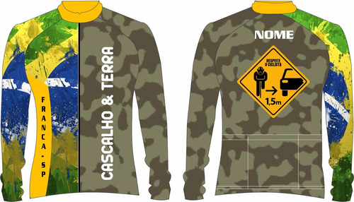 23 camisas bike ciclismo personalizada manga longa dry sport