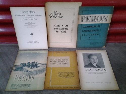 23 discursos y documentos - perón eva peronismo