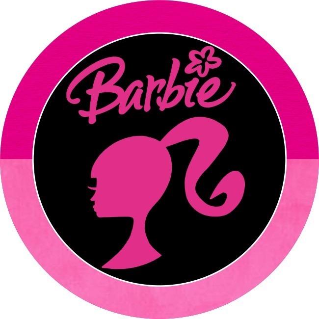 23 Itens Kit Digital Papeis Scrapbook Barbie P Adesivos Tags R