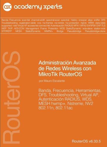 23 libros!! mikrotik + laboratorio + ubiquiti + bonus