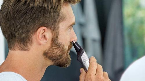 23 piezas cortabarba afeitadora philips multigroom  mg7750