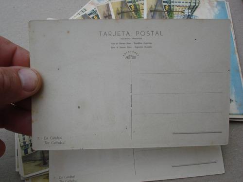 23 postales - la catedral - bs.as.- precio por lote