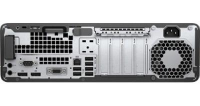 2322 hp pc elitedesk 800 g3 (1fz04ut) i5-7500 3.4ghz 8gb 1tb