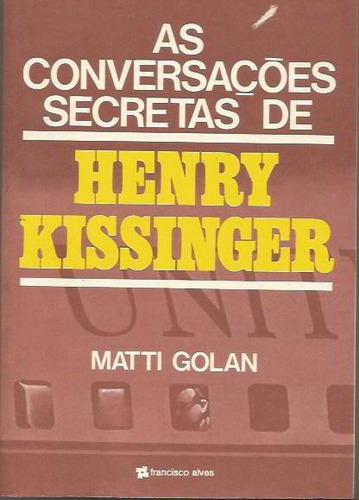 235 - literatura as conversações secretas de henry