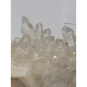236 Se Vende Cuarzo Cristal Blanco En Drusas En Puntas Natu.