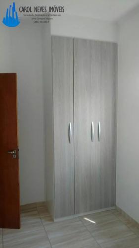2374- sobrado em condomínio fechado 2dorm. locação e venda