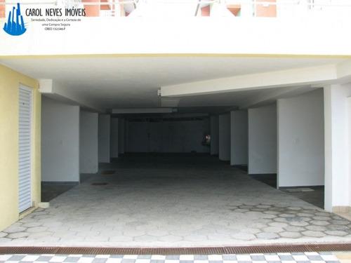 2384- sobrado em condomínio fechado no centro de mongaguá!