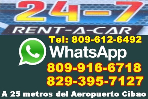 24-7, rent, a car, honda, cr_v,  2013,  santiago,  rep. dom.