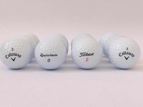 24 bolas de golf callaway, taylormade, titleist