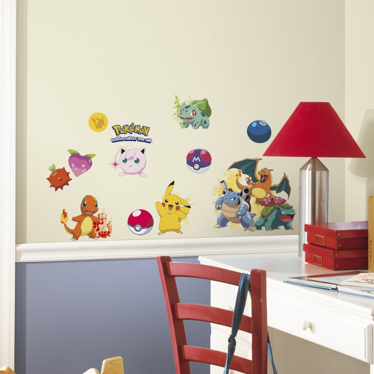 24 Calcomanias Pokemon Para Decorar Pared Blakhelmet Nsp  # Muebles Pokemon Mercadolibre