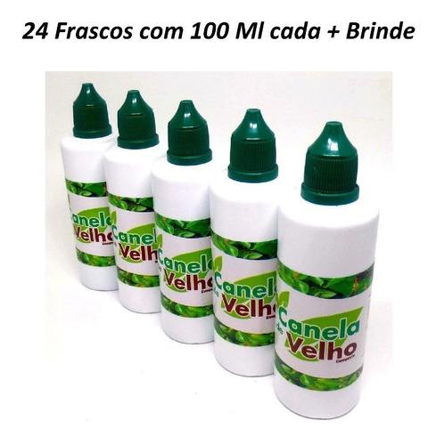 24 canela de velho gotas 24 frascos com 100 ml cada + brinde