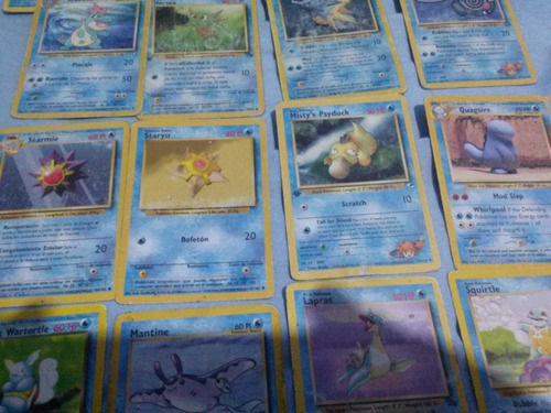 24 cartas pokemon originales - excelente estado