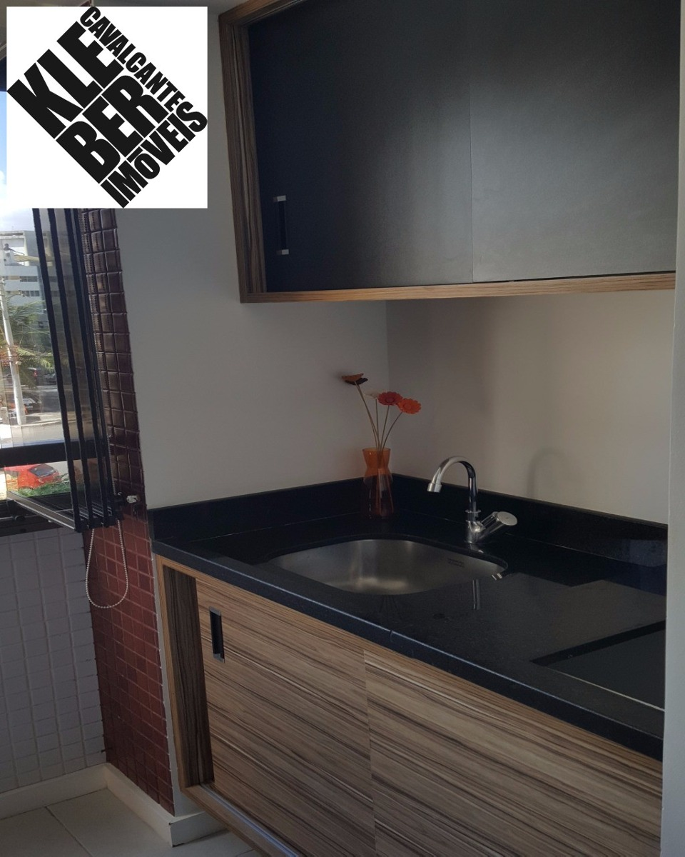 2/4 com suite e varanda gourmet, decorado, jardim armação www.klebercavalcante.net 71.3028-9999 / 99955-4321 - ap00461