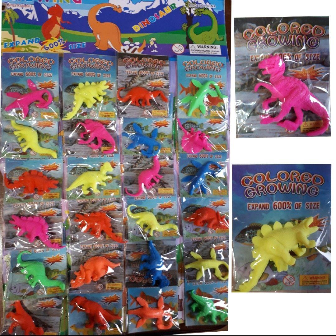 0d9c2a0e5 24 Dinosaurios Crecen En Agua Grandes Mas Gel Orbeez - $ 250,00 en ...