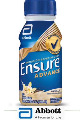 24 ensure advance x 237 ml vainilla abbott