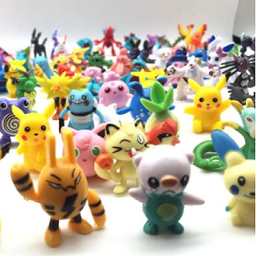 24 figuras de pokemon coleccionables - envío gratis