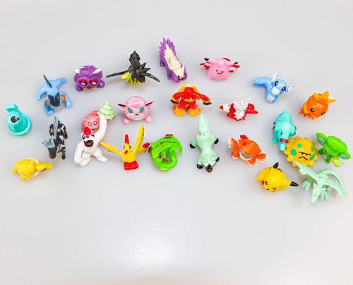 24 figuras de pokemon coleccionables + pikachu de regalo