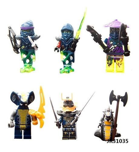 24 figuras ninjago