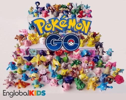 24 figuras pokemon go aleatorias incluye pikachu legendarios