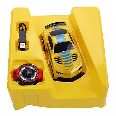2.4 g voz comando coche smart watch control remoto rc